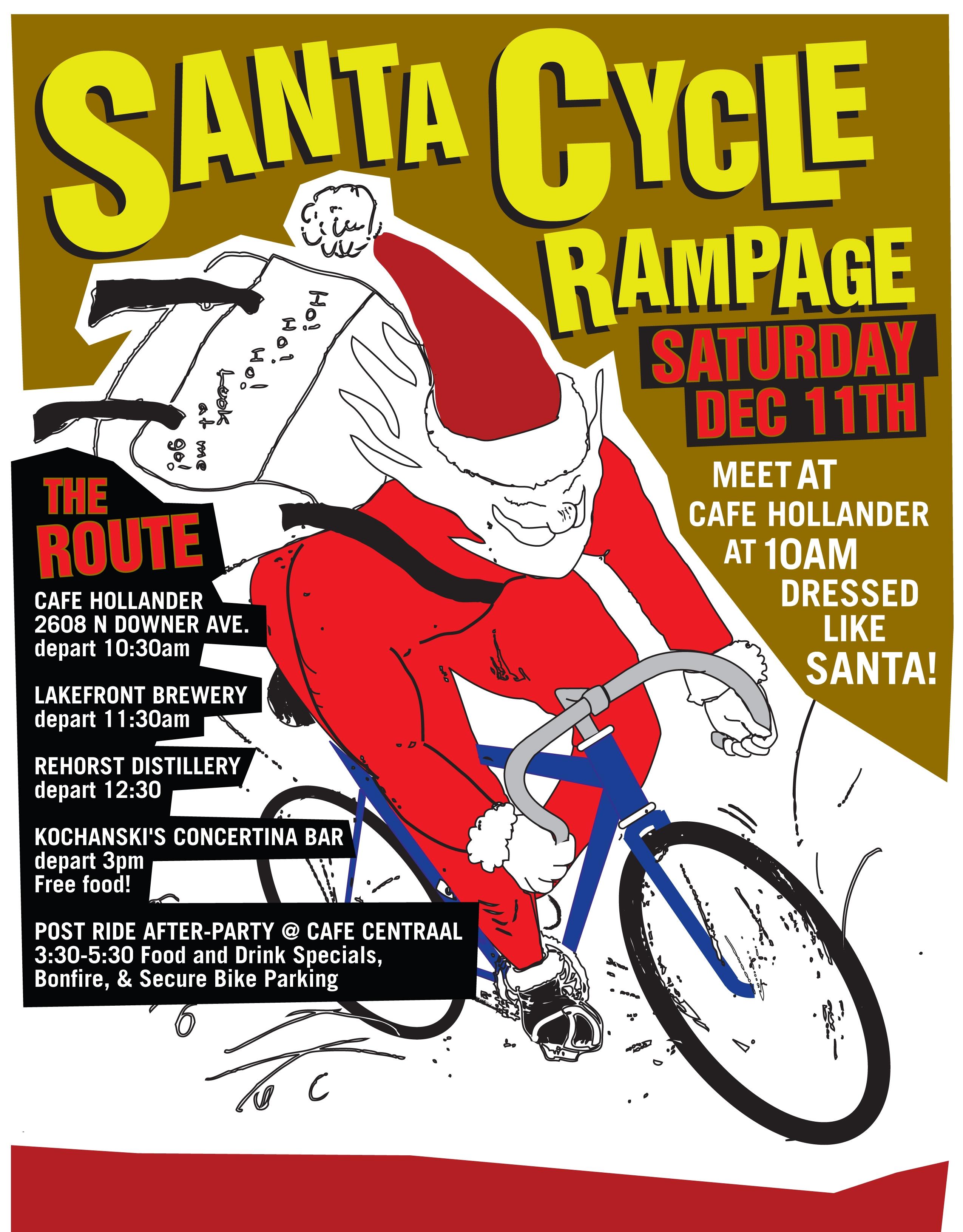 Santa Cycle Rampage Wisconsin Bike Fed